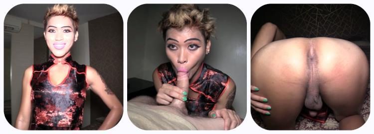 Miley / BJ and Handjob Finisher (21 July 2017) [ladyboygold / HD]