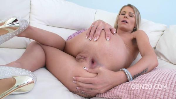 LegalPorno - Claudia Mac takes three cocks in the ass for the first time TAP DAP SZ1788 [HD, 720p]