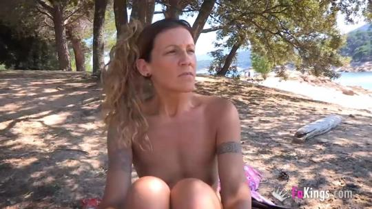 FaKings: Araceli - Dogging at the nudist beach with Araceli the hot MILF. Can you spread me some sunscreen, pls? (SD/368p/296 MB) 29.07.2017