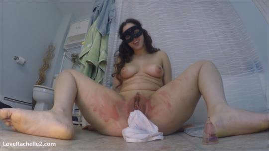 Scat Porn: Bloody Period Panty Stuffing (FullHD/1080p/672 MB) 09.07.2017