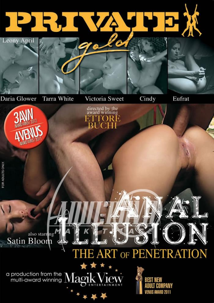 Private - Leony April, Daria Glower, Tarra White, Victoria Sweet, Cindy, Eufrat, Satin Bloom [Private Gold 136: Anal Illusion] (WEBRip/SD 540p)