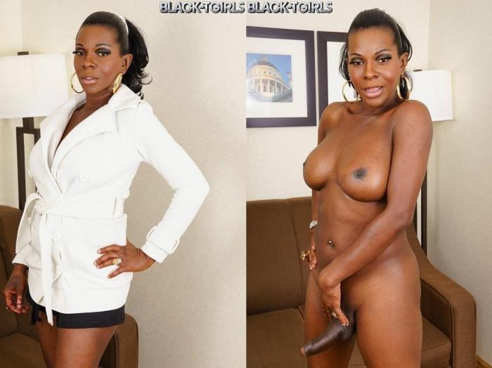 Capri Cinnamon - Hottest Tgirl Milf, Amber! (Black-TGirls) HD 720p