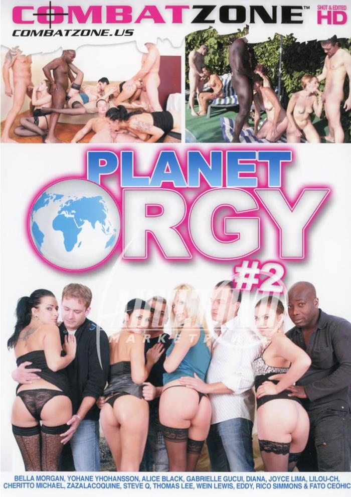 Combat Zone - Alice Black, Bella Morgan, Diana, Gabrielle Gucci, Johane Johansson, Joyce, Lilou, Zaza La Coquine in Planet Orgy 2 (WEBRip/SD 540p)