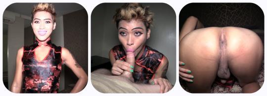 ladyboygold: Miley / BJ and Handjob Finisher (HD/720p/934 MB) 26.07.2017