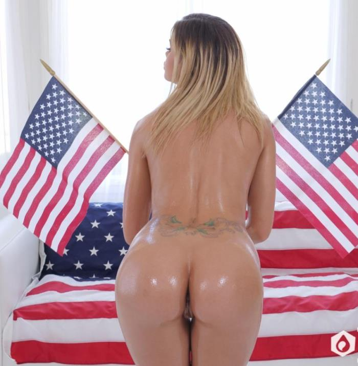 Jessa Rhodes - Wet and Wild on Independence Day (2017 / Lubed)  [HD / 720p/ 668 MiB]