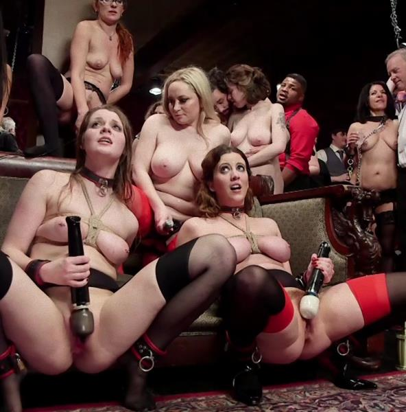 Ramon Nomar , Aiden Starr , Cherry Torn , Nora Riley - The Final Armory BDSM Orgy with a huge group orgasm!  [SD 540p]