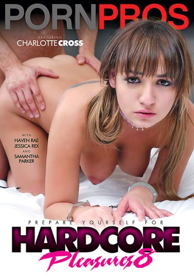 Porn Pros - Charlotte Cross, Haven Rae, Jessica Rex, Samantha Parker in Hardcore Pleasures 8 (WEBRip/SD 480p)