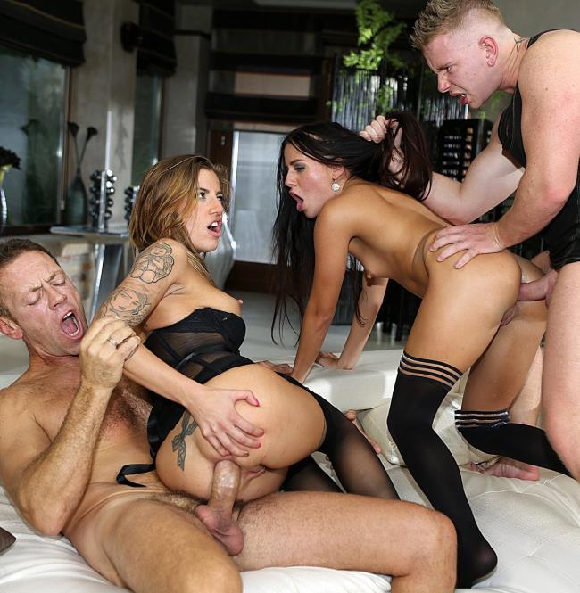 Silvia Dellai, Eveline Dellai, Rocco Siffredi, Chad Rockwell - Rocco Sex Analyst 2 [HD/720p/1.27 Gb] RoccoSiffredi