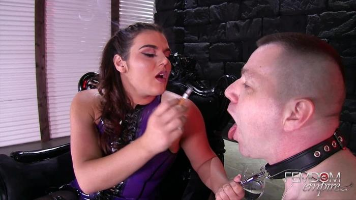 Vendi Carson - The Human Ashtray (FemdomEmpire) FullHD 1080p