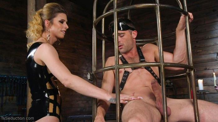 Casey Kisses & Lance Hart / Tall Stunning TS Mistress Casey Kisses (TsSeduction, Kink) HD 720p