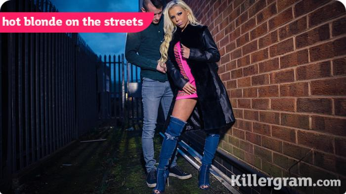 UkStreetWalkers.com / Killergram.com - Barbie Sins - Hot Blonde On The Streets [HD, 720p]