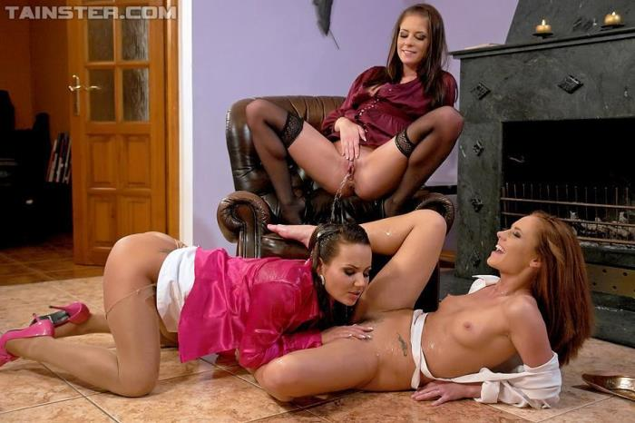 Nataly, Leony Aprill, and Zuzana Z - Three Total Hotties Acting Piss Naughty (Tainster, PissingInAction) HD 720p