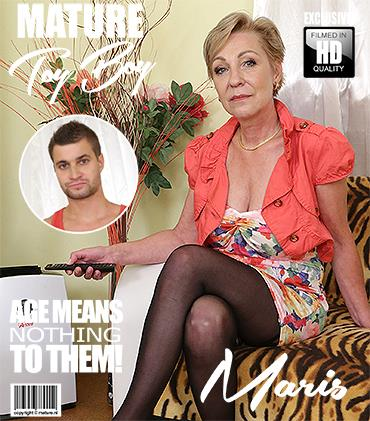 Mature.nl / Mature.eu - Maris (53) mature lady doing her toyboy [FullHD, 1080p]
