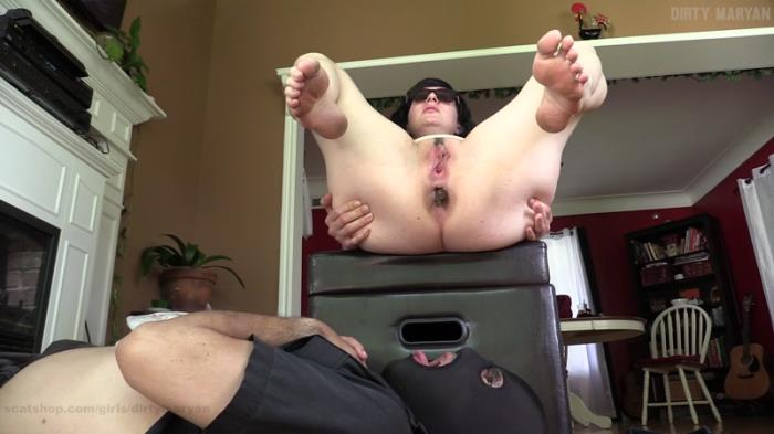 Foot slave turned human toilet / 15-08-2017 (Scat Porn) [FullHD/1080p/MP4/565 MB] by XnotX