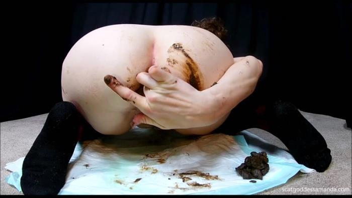 Tall Socks Sensual Poo Cum (Scat Porn) FullHD 1080p