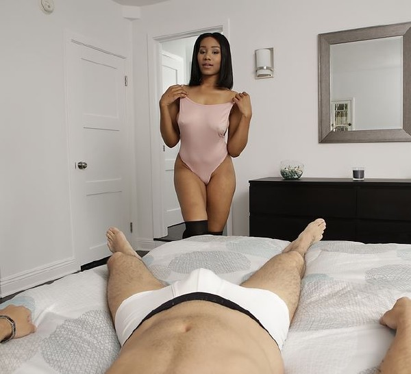 Noemie Bilas, Kyle Mason - I Dream Of Jenna (Big tit) - BlackGFs   [SD 432p]