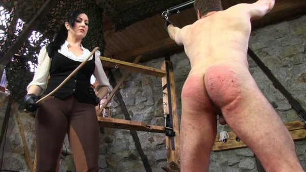 SadoLadies - Miss Jessica Wood [Caned Hard By The Riding Mistress] (FullHD 1080p)