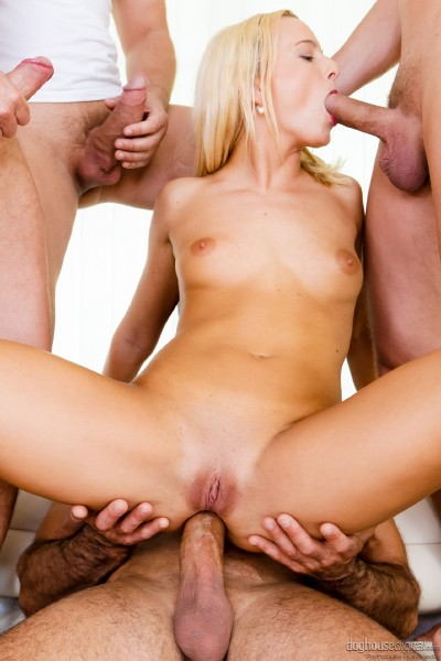 Victoria Pure - Give Me Attention! (Group) - Doghousedigital   [HD 720p]