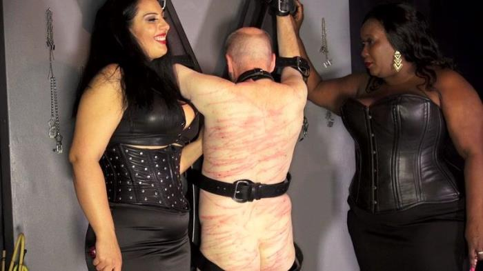 Whip slut for 2 mean & voluptuous beauties (Clips4sale) FullHD 1080p