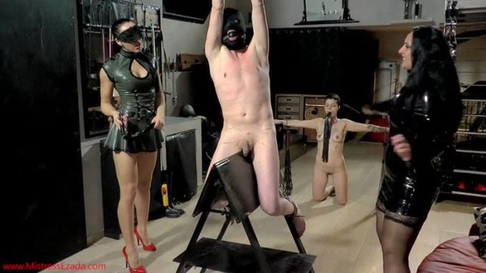 Flogged On The Spanish Donkey (MistressEzada) SD 406p