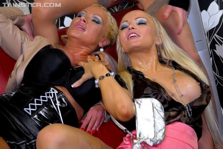 Jenna Lovely, Sharon Pink, Vanessa - VIP Piss Lesbos Watch And Learn [Tainster / HD]
