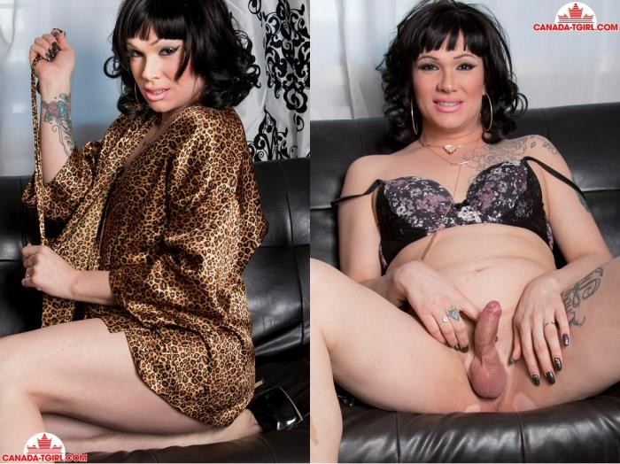 Canada-TGirl.com - Tanisha / Glamorous Tanisha's First Time! [HD, 720p]