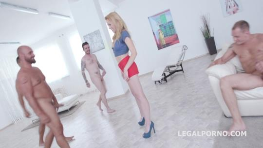 LegalPorno: Total DAP Destruction with Rebecca Sharon, almost only DAP and gapes, she is a monster! GIO419 (SD/480p/974 MB) 07.08.2017