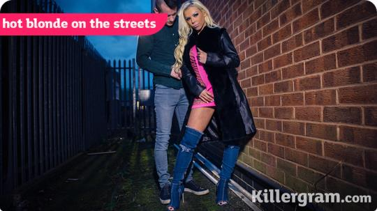 UkStreetWalkers, Killergram: Barbie Sins - Hot Blonde On The Streets (HD/720p/588 MB) 02.08.2017