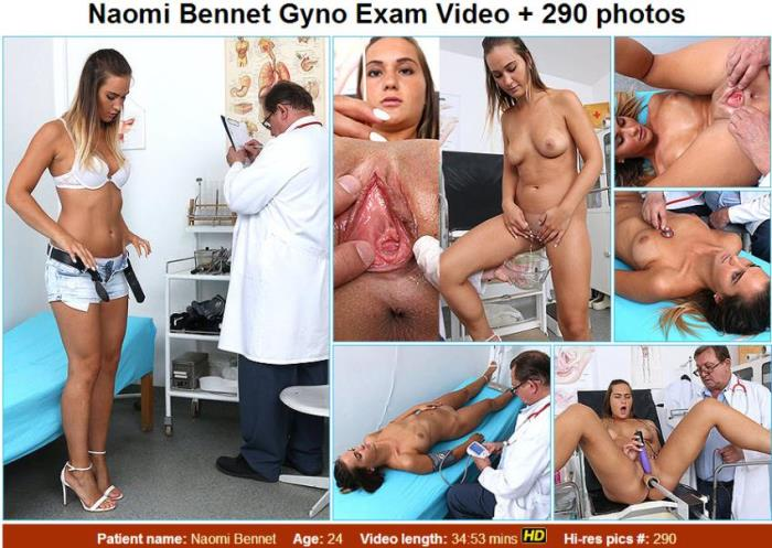 Naomi Bennet - 24 years girls gyno exam [HD 720p] [FreakyDoctor/ExclusiveClub]