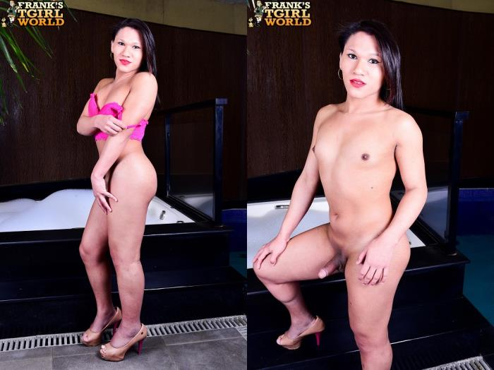 Mikaela Victoria / Sweet Mikaela Victoria Fucks Her Toy! (Franks-TGirlWorld) HD 720p