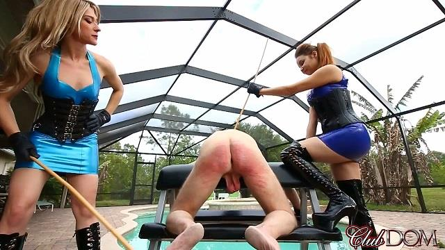 Goddess Tessa Crane and Goddess Ginger - Caning (Clubdom) HD 720p