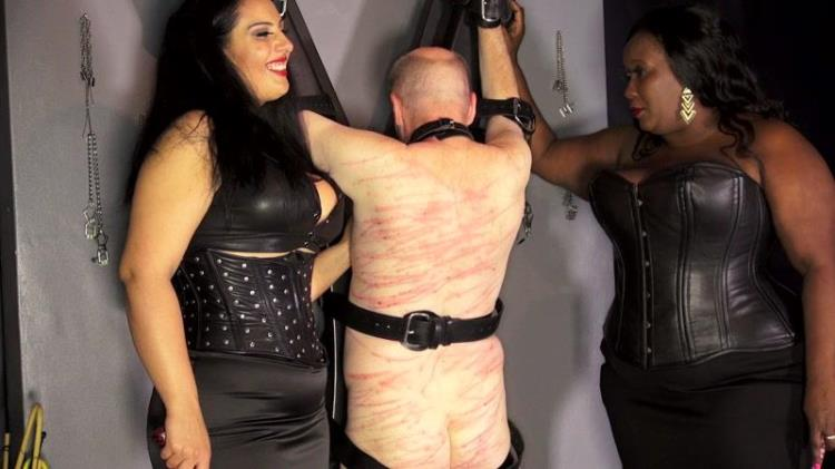 Whip slut for 2 mean and voluptuous beauties [Clips4sale / FullHD]