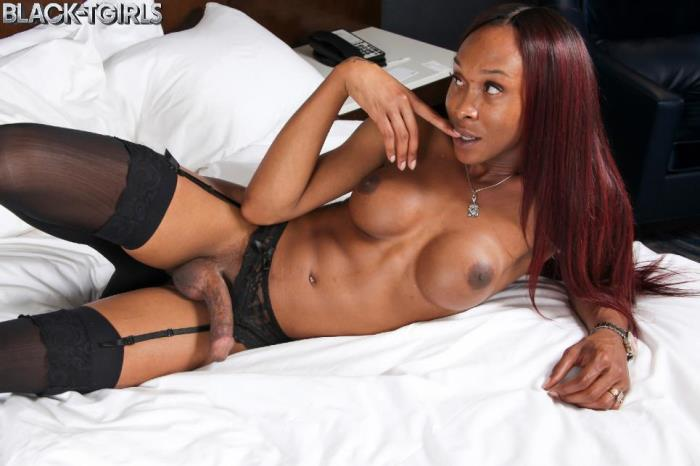 Kayla Biggs - Kayla Biggs Cums Hard! (Black-TGirls) SD 480p