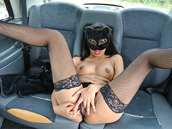 Masked Maya - Role play pussy cat fantasy fuck / 04-08-2017 (FakeTaxi, FakeHub) [SD/480p/MP4/379 MB] by XnotX