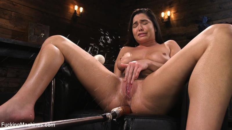 (fisting / MP4) Karlee Grey - Big Tits, Big Ass, and Huge Squirting Orgasms!! FuckingMachines.com / Kink.com - HD 720p