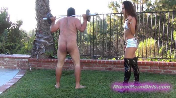 Beaten Into Shape (AmericanMeanGirls, MiamiMeanGirls) FullHD 1080p