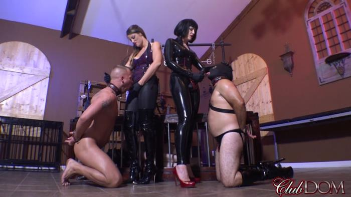 Female Domination - Jean Bardot & Paris Destroy Every Slave [FullHD, 1080p]
