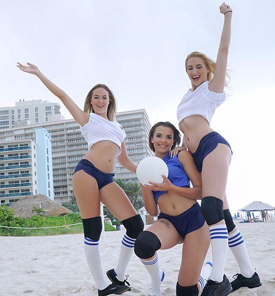 Sierra Nicole, Nicolette Love, Eve Ellewood - (BFFS) Volleyballin [HD 720p] - Group