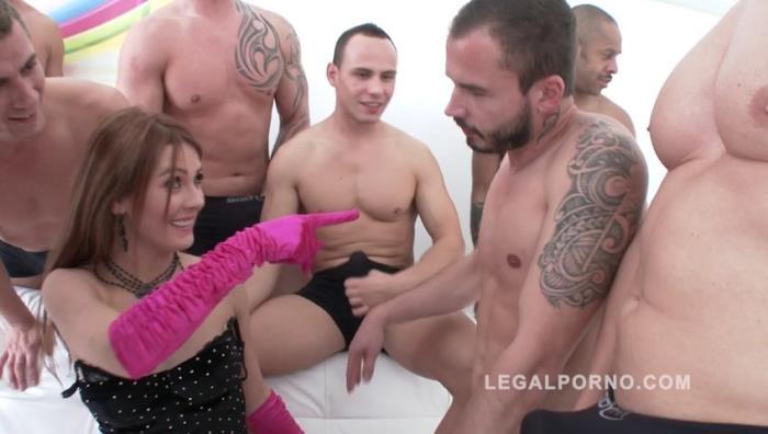 LegalPorno.com - Timea Bella anal gangbang 10 on 1 balls deep anal SZ1062 [SD, 480p]