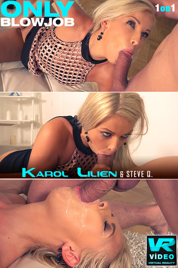 Karol Lilien - Dick Licking Cum Lover [OnlyBlowJob.com / DDFNetwork.com] [SD] [482 MB]