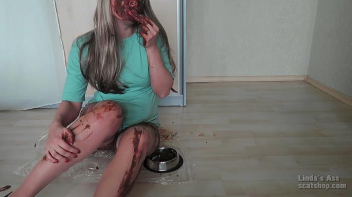 Shitty dog bowl (Scat Porn) FullHD 1080p