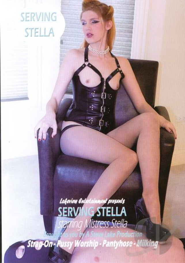 Stella: Serving Stella Strap-on, pussy worship (SD / 480p / 2017) [LakeviewEntertainment]