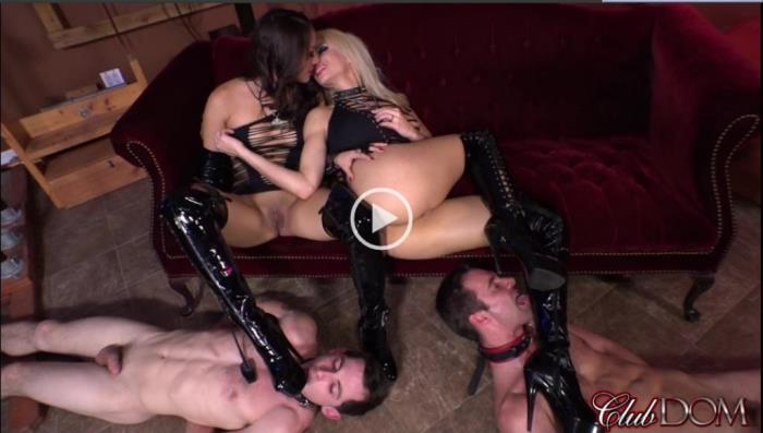 Female Domination - Kylie Rogue & Nikki Boot Worship [FullHD, 1080p]