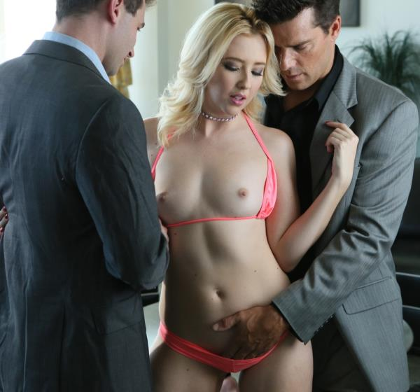 NewSensations - James Deen, Ramon Nomar, Samantha Rone - Samantha Gets Two In The Back [HD 720p]