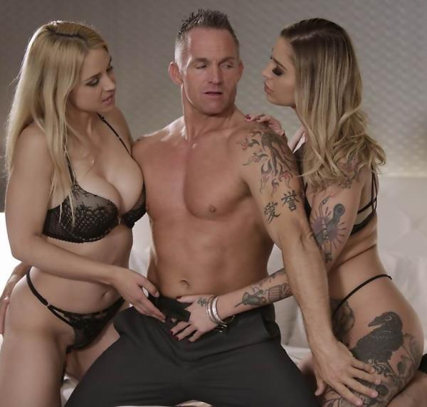 Wicked:  Kleio Valentien, Sarah Vandella, Marcus London- Takers, Scene 4  [2017|FullHD|1080p|1.43 Gb]