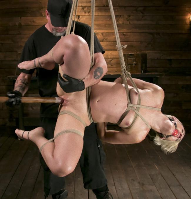 Kink/HogTied - Dylan Ryan, The Pop - Blonde Goddess is Destroyed in Devastating Predicament Bondage [SD 540p]