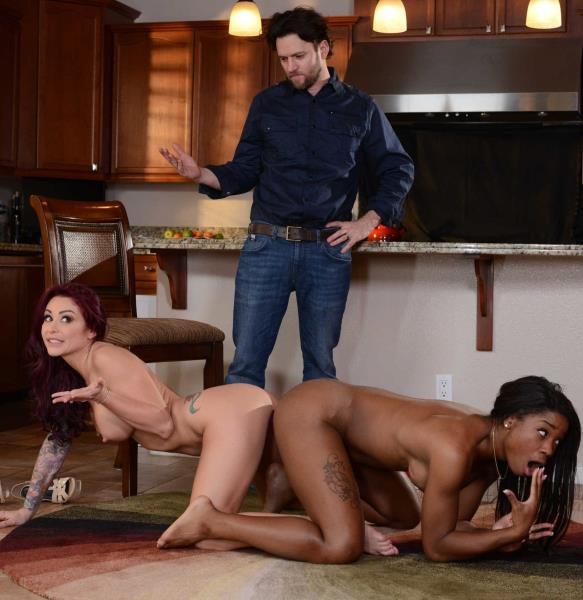 TeensLikeItBig/Brazzers: Monique Alexander, Preston Parker, Mya Mays - A Family Affair 2 - Part Three  [SD 480p]  (3some)