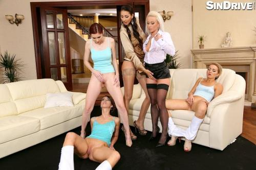 Kitty Jane, Victoria Puppy, Susan Ayn - Proper Pissy Pussy Audition [HD, 720p] [SinDrive.com]