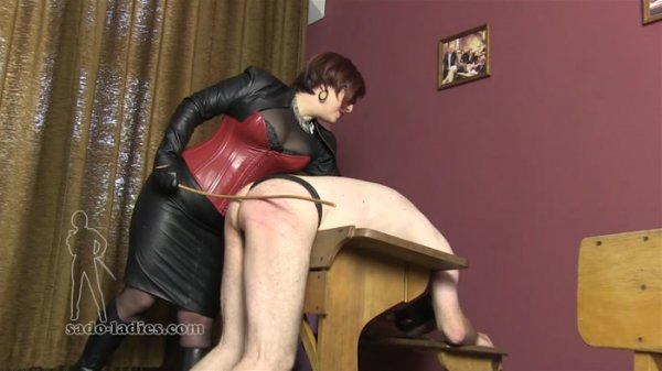 SadoLadies - Mademoiselle De S [A Lesson With The Cane] (FullHD 1080p)