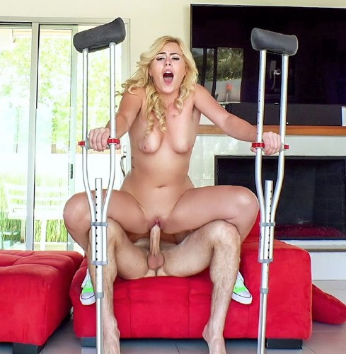 PervsOnPatrol/Mofos - Summer Day - Twerking Blonde Blows Insurance Guy (Teen)  [SD / 480p / 253.11 Mb]